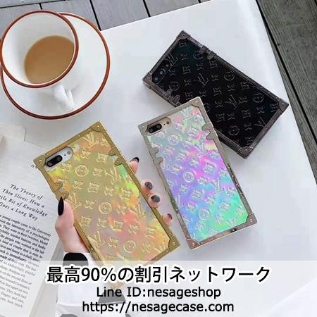 Louis Vuitton iphone11pro maxケース スクエア型