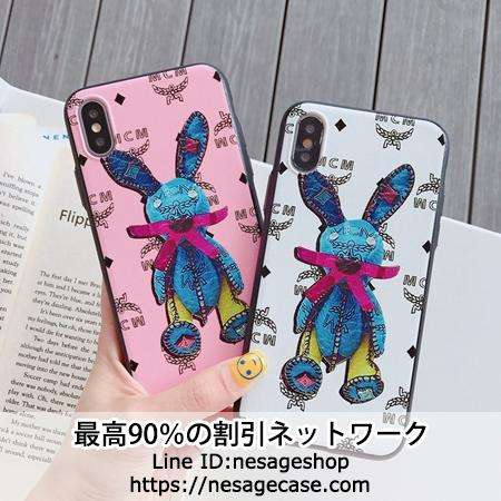 MCM Rabbit Visetos iPhone11pro ケース 可愛い
