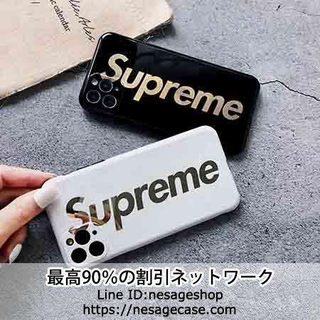 SUPREME  iPhone11 Pro Max ケース メッキログ