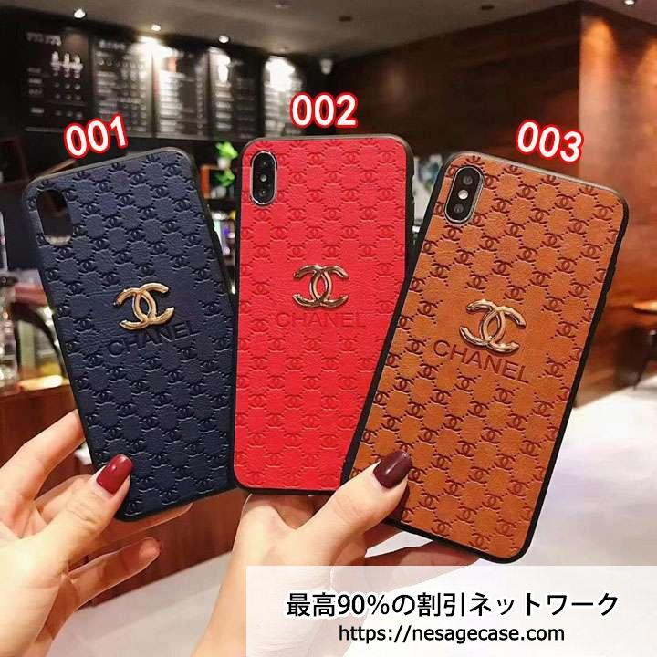 CHANEL iPhoneXR エンボス