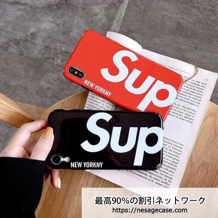 supreme アイフォンxs おしゃれケース