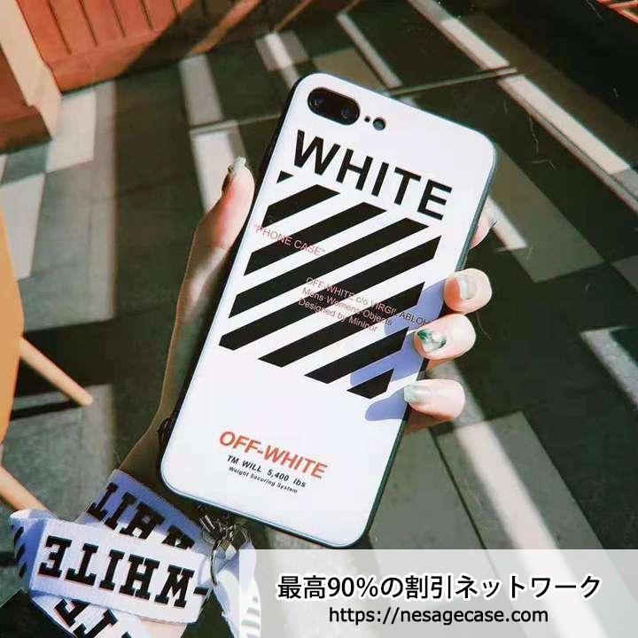 オフホワイト iPhoneXS/Xケース 個性的