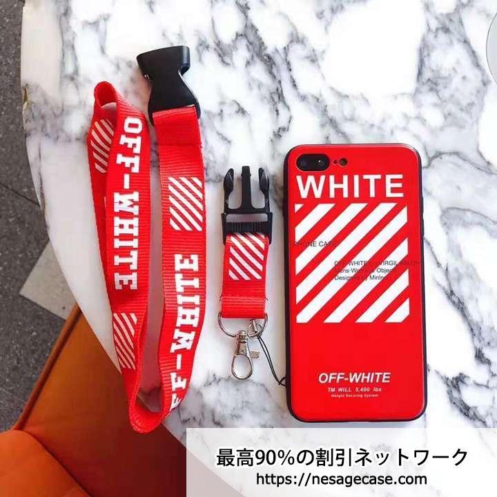 アイフォンXRケース オフホワイト