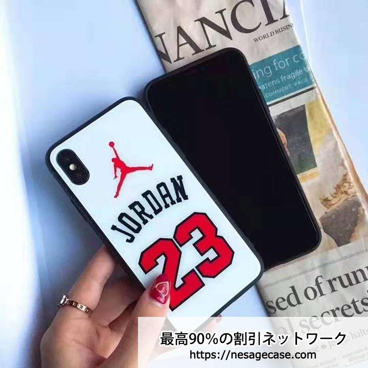 ジョーダン iPhone 11/XRケース 背面ガラス