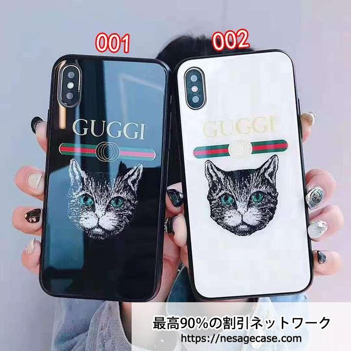 グッチ iPhone 11/11 PROケース 背面ガラス