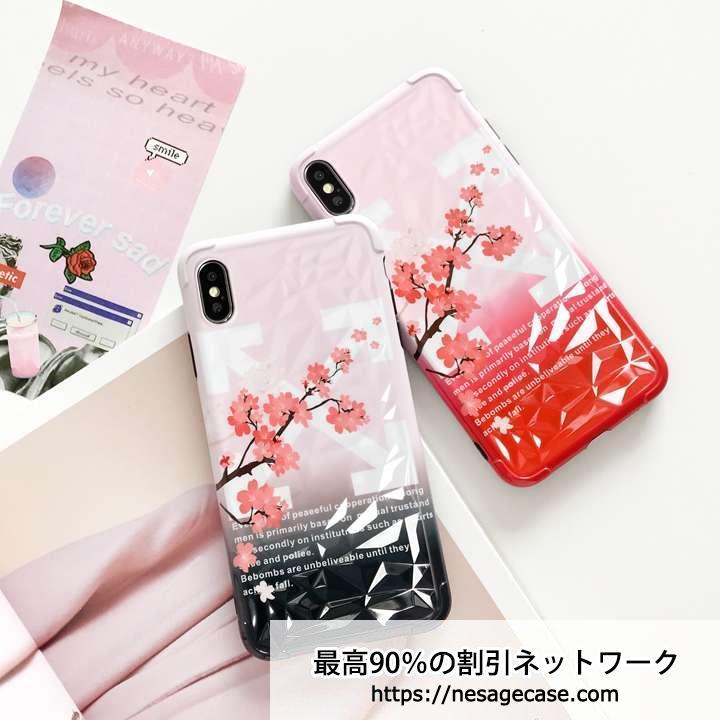 オフホワイト iphone11 プロケース 花柄