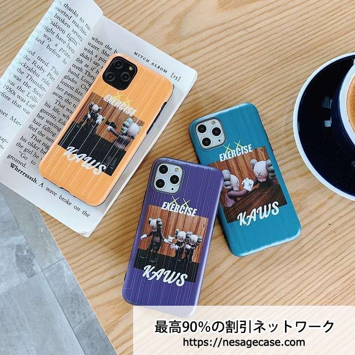 カウズ iphone11 pro maxカバー 薄型